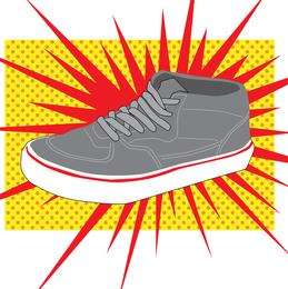 Vector de calzado