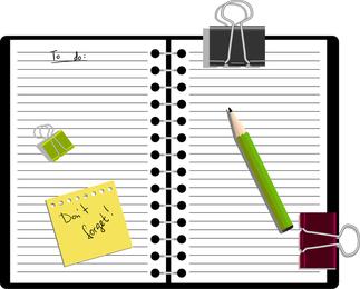 Notepad Vector 3