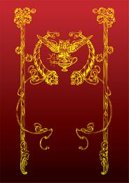 Antike Eulendekoration