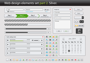 Web Design Elements Vector 2 2