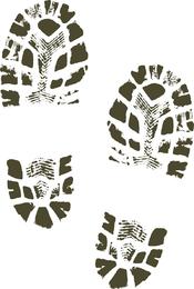 Botas zapatos zapato de impresión de imágenes prediseñadas