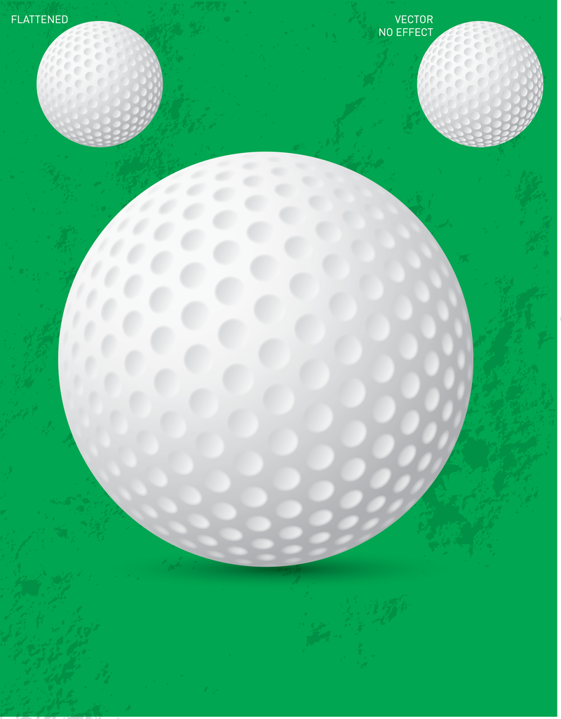 free vector golf ball vector download rh vexels com Golf Ball Graphic Golf Ball Illustration