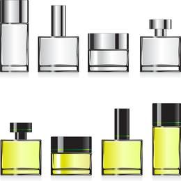 Empty Perfume Bottle Vector