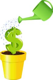 Tipos de vetor de dinheiro