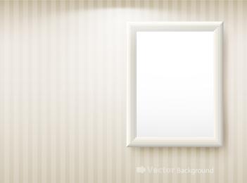 Vector de marco en blanco 3