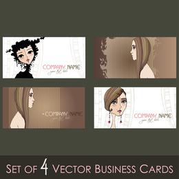 Illustration Card Template 03 Vector
