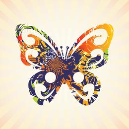 Brilliant Butterflies Vector