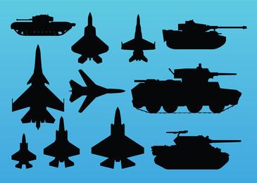 Gráficos vectoriales de guerra