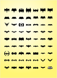 Gráficos de vetor de morcego