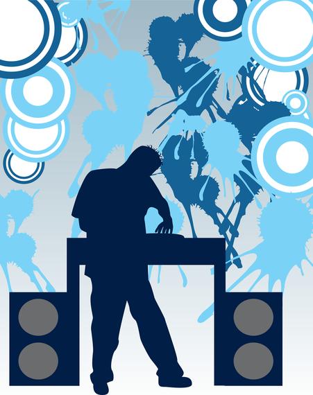 Disco Mix Vectors