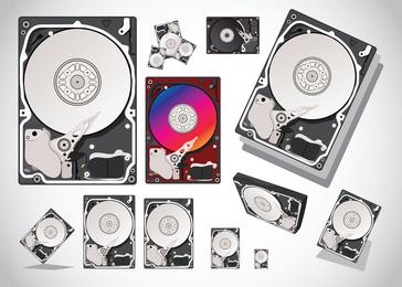 Hard Disk Vectors