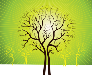 Vector Art Trees 2
