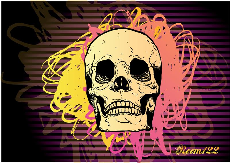 Skull Vector 8