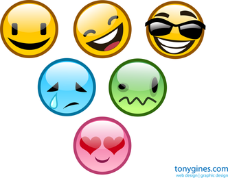 Vector Smiley Pack 2
