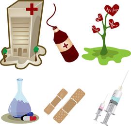 Conjunto de vectores médicos