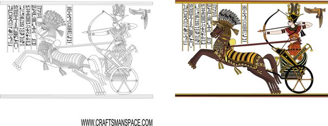 Ramses Ii in der Schlacht von Kadesh 2