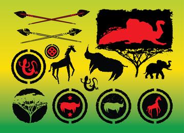 Afrika-Vektoren