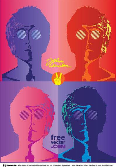 John Lennon Póster
