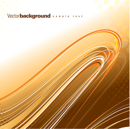 Gorgeous Dynamic Flow Line 02 Vector