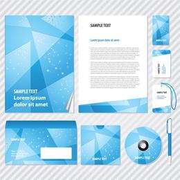 Elemente des Mode-Business-Vi-Vorlagenvektors
