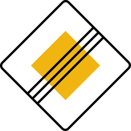 Placa de sinal Vector 422
