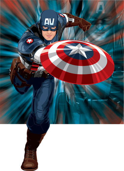 Us Captain Vector