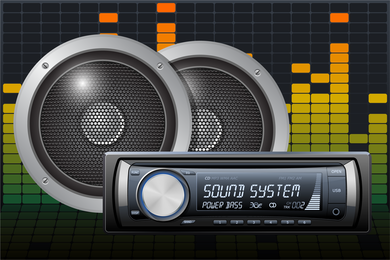 Car Audio Vector 5