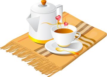 Combinación De Café Vector