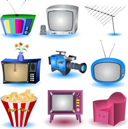 Appliances And Cameras Vector
