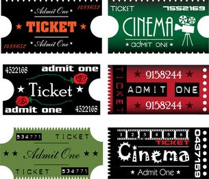 Clip Art Movie Ticket