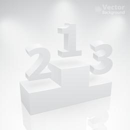 Espacio en blanco para mostrar 05 Vector