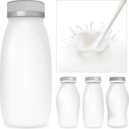 Milch-Themenvektor 2