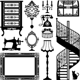 Europeanstyle Home Vector