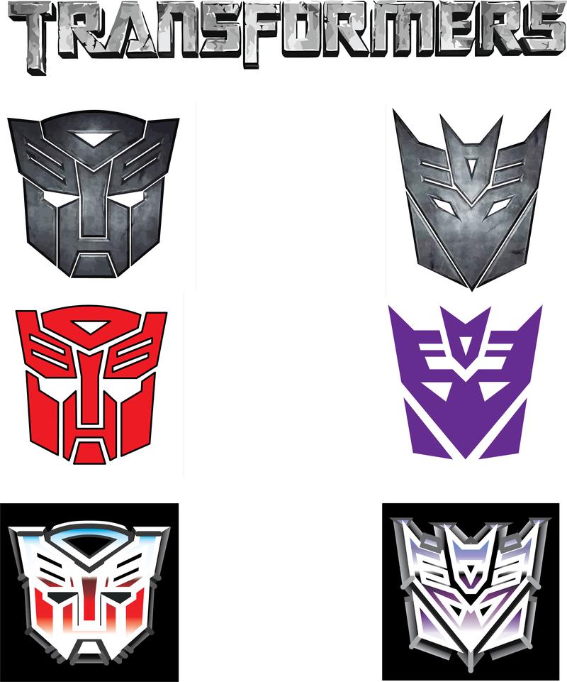free transformers logo vector vector download