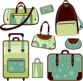Variety Of Vector Bags