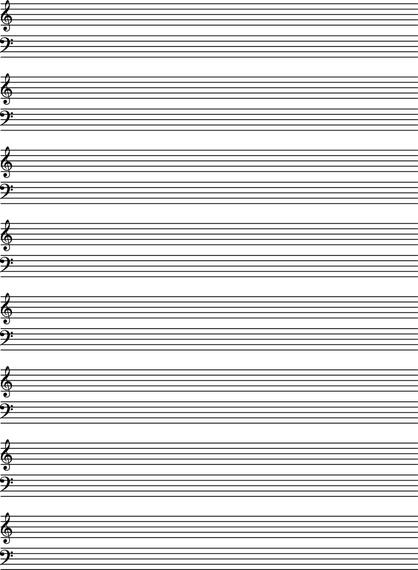 Music Staves