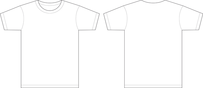 Men t shirt template vector vector download for T shirt templates vector