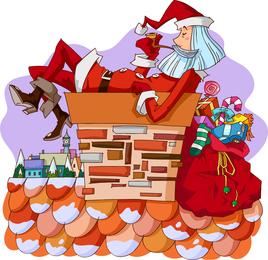 Santa Vector 3