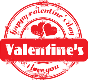 Seal Of Love Vector