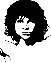 Vector Freebie Jim Morrison