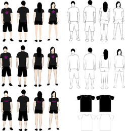 T Shirt Models 2