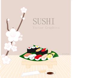 Sushi-Vektorgrafiken