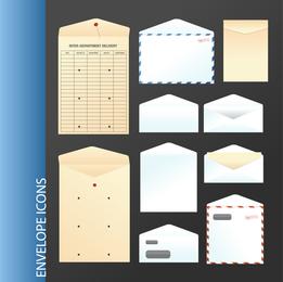 Paper Bags Envelopes Vector Material