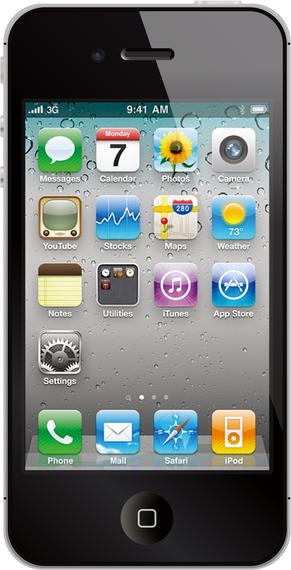 Iphone 4s Vector
