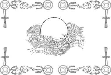 One Of Chinese Classical Vector