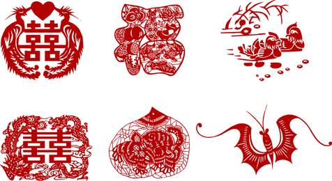 Vector Papercut Tradicional