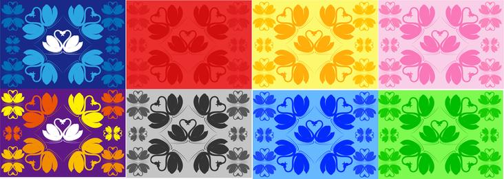 Gráfico vectorial de cisne