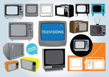 Vectores de television gratis