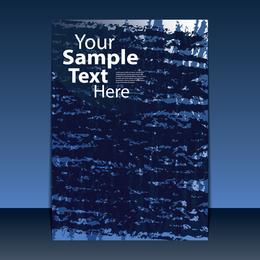 Classic Book Cover Design 01 Vector