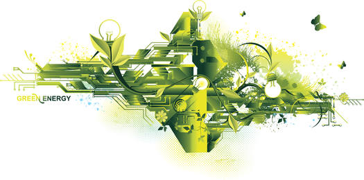 2 The Trend Of Environmental Protection Theme Vector